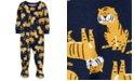 Carter's Baby Boys Cotton Footed Tiger Pajamas