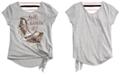 Beautees Big Girls Embellished Sneaker T-Shirt