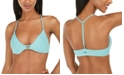 Roxy Juniors' Beach Classics T-Back Bikini Top