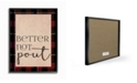 """Stupell Industries Better Not Pout Humor Typography Framed Giclee Art, 11"""" x 14"""""""