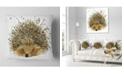 "Design Art Designart Hedgehog Illustration Watercolor Contemporary Animal Throw Pillow - 16"" X 16"""