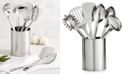 Martha Stewart Collection 7-Pc. Stainless Steel Utensil Set, Created for Macy's