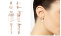 BCBGeneration Festival Peace Sign Earrings Set