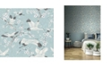 "Sirpi 40.1"" x 396"" Airone Crane Wallpaper"