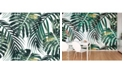 ohpopsi Tropical Leaves Wall Mural