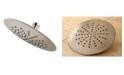 Kingston Brass Showerscape Single Setting 7-Inch ABS Rain Shower Head in Brushed Nickel
