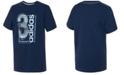 adidas Big Boys Logo Box Cotton T-Shirt