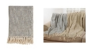 Saro Lifestyle Foil Design Throw