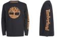 Timberland Little Boys Epsom Black Logo T-Shirt
