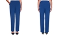 Alfred Dunner Sapphire Skies Proportioned Crepe Pants