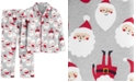 Carter's Little & Big Boys 2-Pc. Fleece Santa Pajamas Set