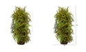 """Nearly Natural 40"""" Mixed Forest Foliage Artificial Plant On Trunk"""