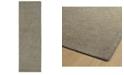 """Kaleen Textura TXT06-75 Gray 2'6"""" x 8' Runner Rug"""