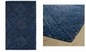 "Kaleen Evanesce ESE02-17 Blue 3'6"" x 5'6"" Area Rug"