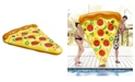 """Northlight 70.5"""" Inflatable Pizza Slice Novelty Swimming Pool Raft Float"""