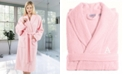 Linum Home 100% Turkish Cotton Personalized Terry Bath Robe - Pink