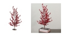 "Northlight 23.5"" Festive Red Berries Artificial Decorative Christmas Tree"