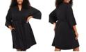 Motherhood Maternity Plus Size Belted Robe