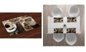 Ambesonne Brown Place Mats, Set of 4