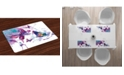 Ambesonne Butterfly Place Mats, Set of 4
