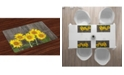 Ambesonne Sunflower Place Mats, Set of 4