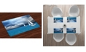 Ambesonne Sailboat Place Mats, Set of 4