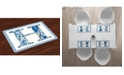 Ambesonne Letter H Place Mats, Set of 4