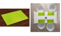 Ambesonne Lime Place Mats, Set of 4