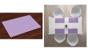 Ambesonne Checkered Place Mats, Set of 4