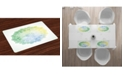 Ambesonne Lotus Place Mats, Set of 4
