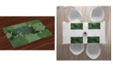 Ambesonne Forest Green Place Mats, Set of 4