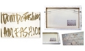 "Oliver Gal Golden Fashion Girl Canvas Art, 24"" x 16"""