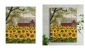 "Courtside Market Sunflower Barn 12"" x 16"" Wood Pallet Wall Art"