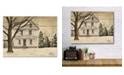 "Courtside Market Winter Porch 16"" x 20"" Wood Pallet Wall Art"
