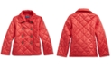 Polo Ralph Lauren Toddler Girl's Quilted Double-Breasted Jacket