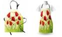 Ambesonne Poppy Apron