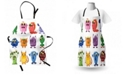 Ambesonne Funny Apron