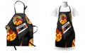 Ambesonne 70s Party Apron