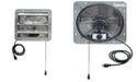 "iLiving 12"" Shutter Exhaust Attic Garage Grow Fan, Ventilation Fan with 3 Speed Thermostat"
