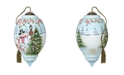 Ne'Qwa Winter Scene Ornament