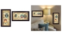 """Trendy Decor 4U The Wise Owls Collection By Annie LaPoint, Printed Wall Art, Ready to hang, Black Frame, 20"""" x 11"""""""