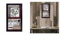 "Trendy Decor 4U Cherish The Small things by Lisa Morales, Ready to hang Framed Print, Black Frame, 11"" x 20"""