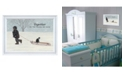 """Trendy Decor 4U Together By Bonnie Mohr, Printed Wall Art, Ready to hang, White Frame, 15"""" x 11"""""""