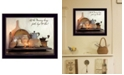 """Trendy Decor 4U Faith, Hope and Love By SUSAn Boyer, Printed Wall Art, Ready to hang, Black Frame, 18"""" x 14"""""""