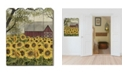 """Trendy Decor 4U Sunshine by Billy Jacobs, Printed Wall Art on a Wood Picket Fence, 16"""" x 20"""""""