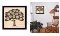 "Trendy Decor 4U Trendy Decor 4U Family Attributes I By Deb Strain, Printed Wall Art, Ready to hang, Black Frame, 14"" x 14"""