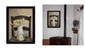 "Trendy Decor 4U Golden Tulips by Robin-Lee Vieira, Ready to hang Framed Print, Black Frame, 14"" x 18"""
