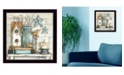Trendy Decor 4U Trendy Decor 4U Birdhouse on Books By Mary June, Printed Wall Art, Ready to hang Collection