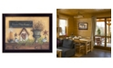 """Trendy Decor 4U Trendy Decor 4U Bless This Home By Mary June, Printed Wall Art, Ready to hang, Black Frame, 18"""" x 14"""""""