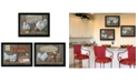 """Trendy Decor 4U Farmers Market Collection By Pam Britton, Printed Wall Art, Ready to hang, Black Frame, 54"""" x 14"""""""